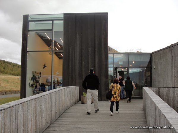 visitor center at Vatnajokulspjodgardur National Park in Iceland