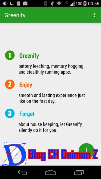 Your phone or tablet is slow and battery hungry after many applications are installed Greenify Donate 4.2.0.0 -  App Android