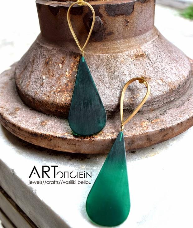 ARTοnomous style    design  Δροσερά και καλοκαιρινά σκουλαρίκια από ... 638915d6f40