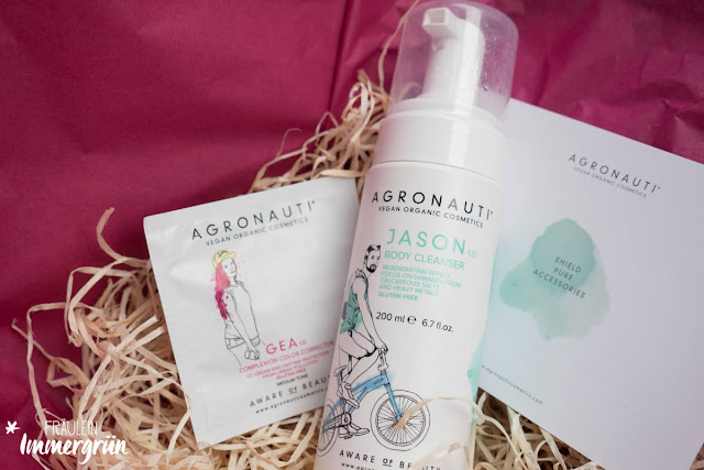Agronauti JASON Eco-mousse body cleanser und Agronauti GEA Color Correction Cream