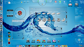 Transform Windows 7 to Glass GUI - Free Glass Skin Pack for