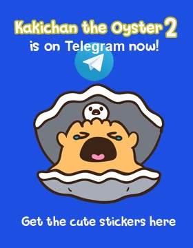 Kakichan The Oyster 2 on Telegram