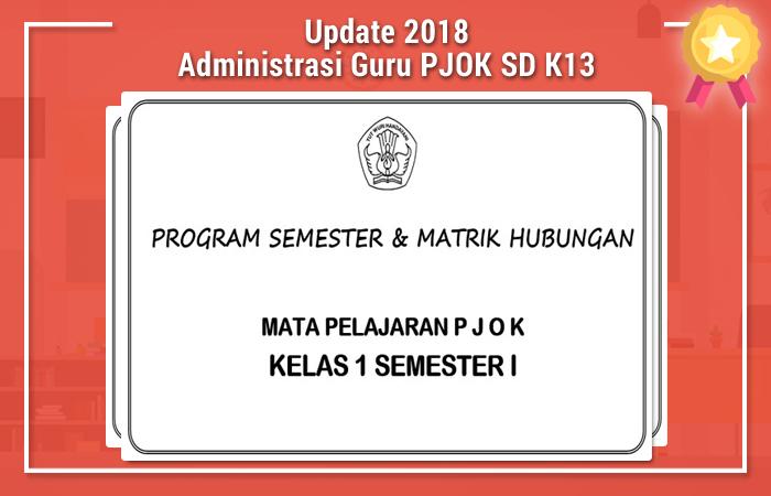 Administrasi Guru PJOK SD Kurikulum 2013