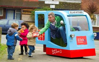 Ella's Kitchen Mini Milk Float