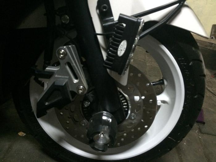 modifikasi motor yamaha nmax foto gambar41  terbaru