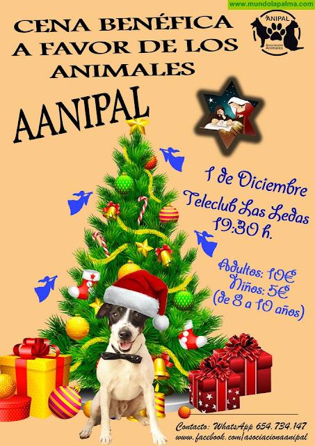 AANIPAL: Cena Benéfica a favor de los animales