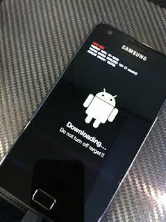 Downloading mode