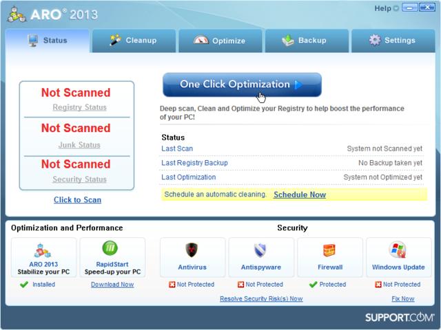 برنامج ARO لاصلاح أخطاء الويندوز وتسريع الجهاز
