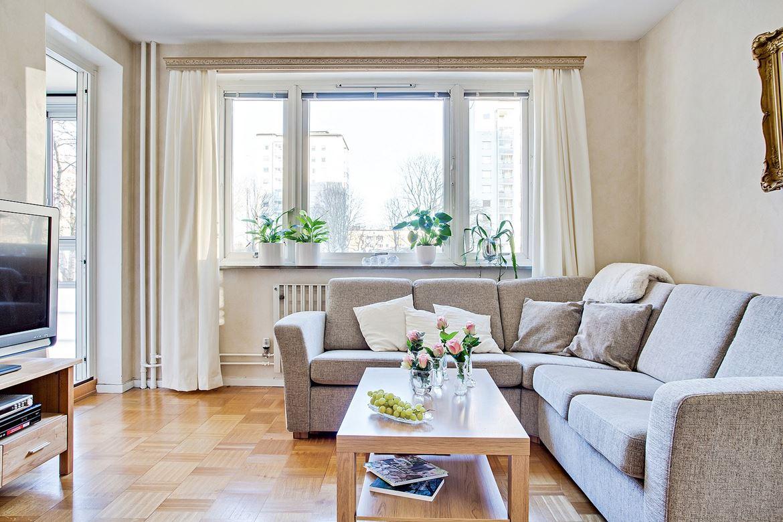 Decor me estilo n rdico rom ntico en un apartamento muy for Casas estilo romantico