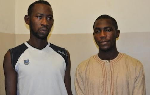 EFCC Arrests And Parades Two Fake EFCC Operatives