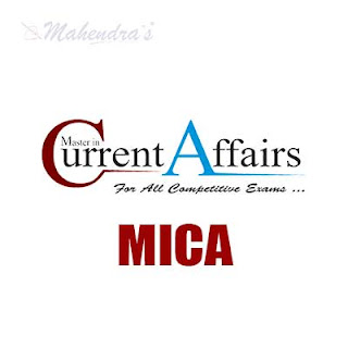 MICA : August, 2018 | Master In Current Affairs