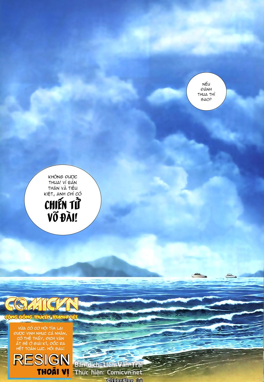 Người Trong Giang Hồ NetTruyen chap 867 - Trang 23