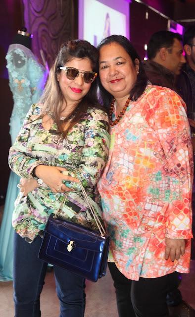 Shweta Gupta with Padma Gupta