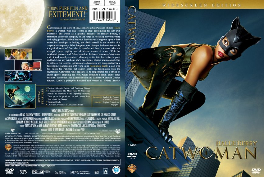 Catwoman Hindi Dual Audio Full Movie Download 720p Hindi HD