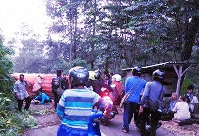Dua Korban Meninggal Kecelakaan Elf Warga Sumobito