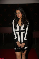 Ananya Soni in a Deep neck white blackl Dress at Shamanthakamani pre release function ~  Exclusive 079.JPG