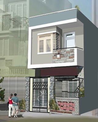 Những mẫu nhà 2 tầng chưa đến 500 triệu cho vợ chồng trẻ