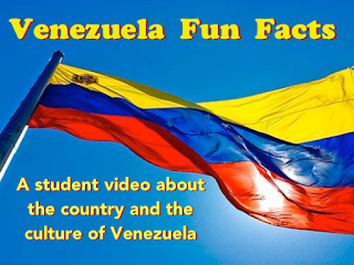 Student video about the country and culture of Venezuela from AnneK at Confesiones y Realidades