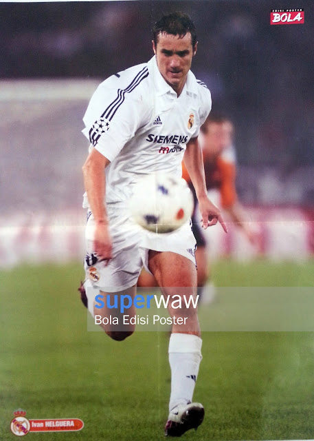 Poster Ivan Helguera (Real Madrid)