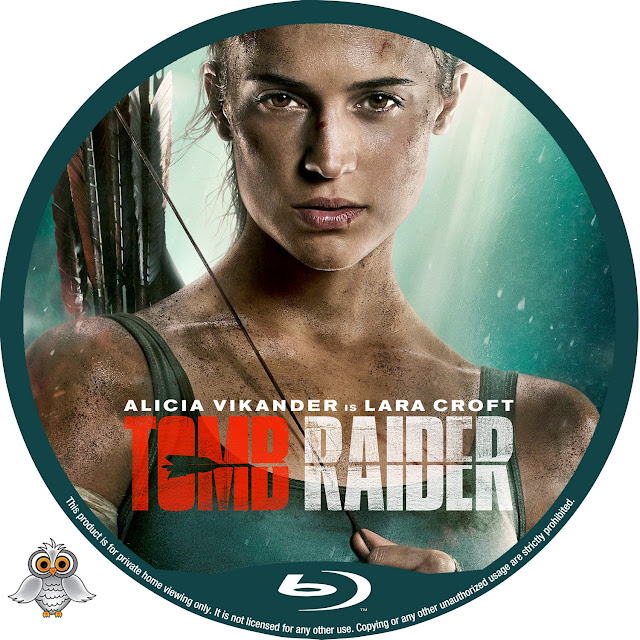Tomb Raider Bluray Label