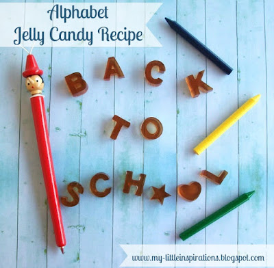 Caramelle gelée alfabeto Back to School - My Little Inspirations 1