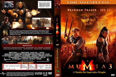 Filmes A Múmia 3 - A Tumba do Imperador Dragão (The Mummy Tomb of the Dragon Emperor) DVD Capa