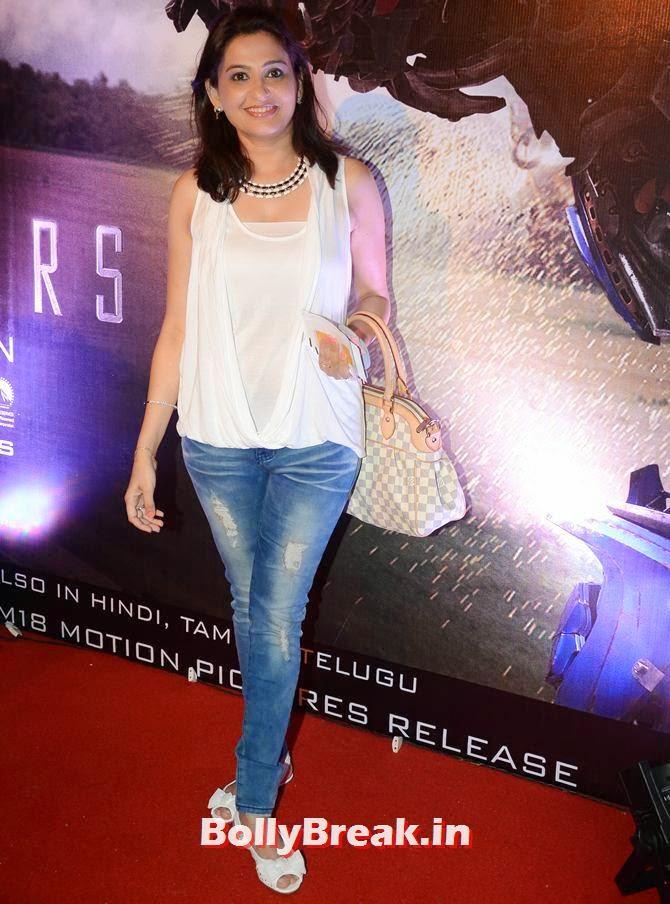 Smita Bansal, Asha Negi, Lauren Gottlieb, Shama Sikandar at Transformers Movie premiere