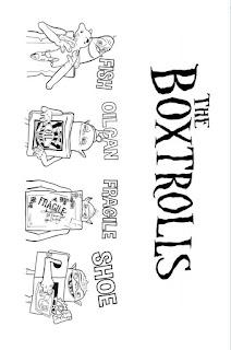 Ausmalbilder Die Boxtrolls zum Ausdrucken