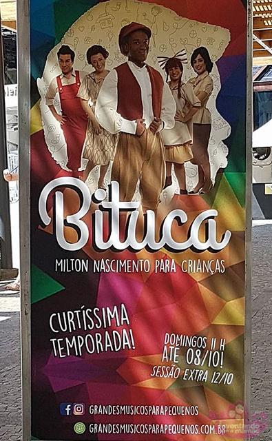 """Musical """"Bituca - Milton Nascimento Para Crianças"""""""