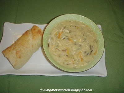 Margaret's Morsels | Chicken and Wild Rice Soup