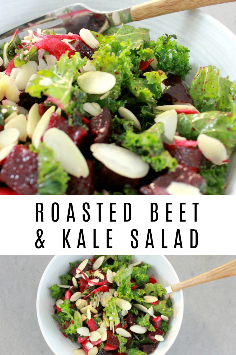 Roasted Beet and Kale Salad Recipe