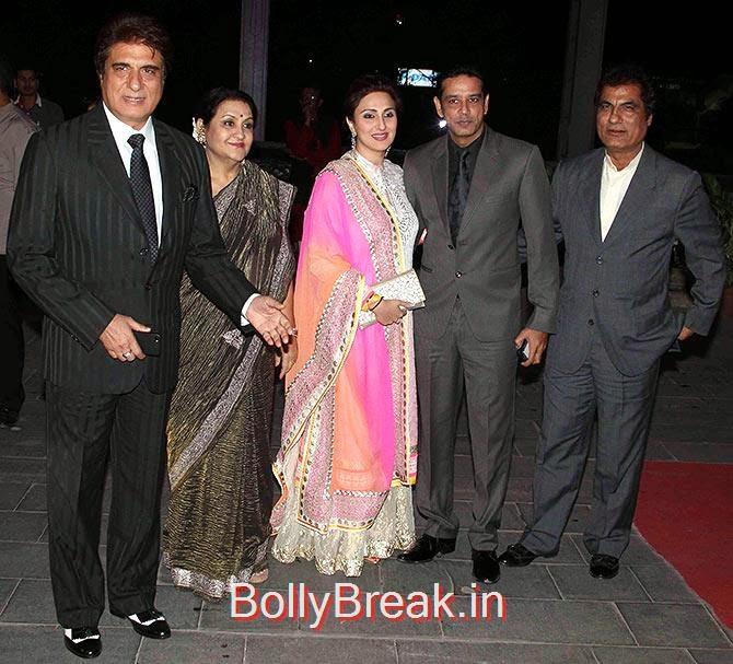 Raj Babbar, Nadira, Juhi, Anup Soni, Kishan Babbar, Tulsi Kumar Wedding Reception Photo Gallery 2015