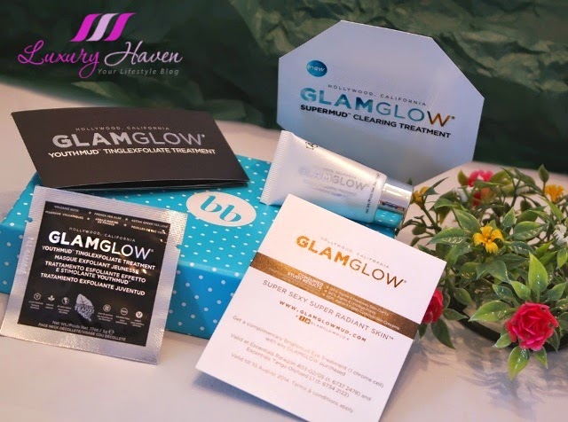 bellabox glamglow super mud clearing treatment review