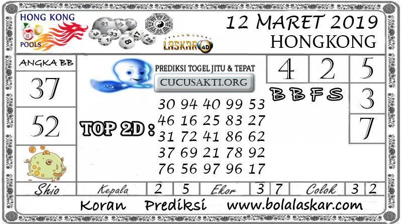 Prediksi Togel HONGKONG LASKAR4D 12 MARET 2019