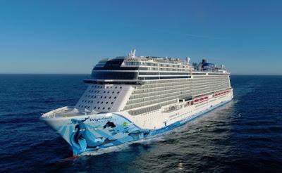 Norwegian Cruise Line's Norwegian Bliss Delivered from Meyer Werft.