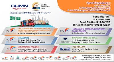Cara Daftar Mudik Gratis 2018 dari Pelindo II
