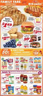 ⭐ Family Fare Ad 10/16/19 ⭐ Family Fare Flyer October 16 2019