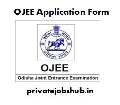 OJEE Application Form