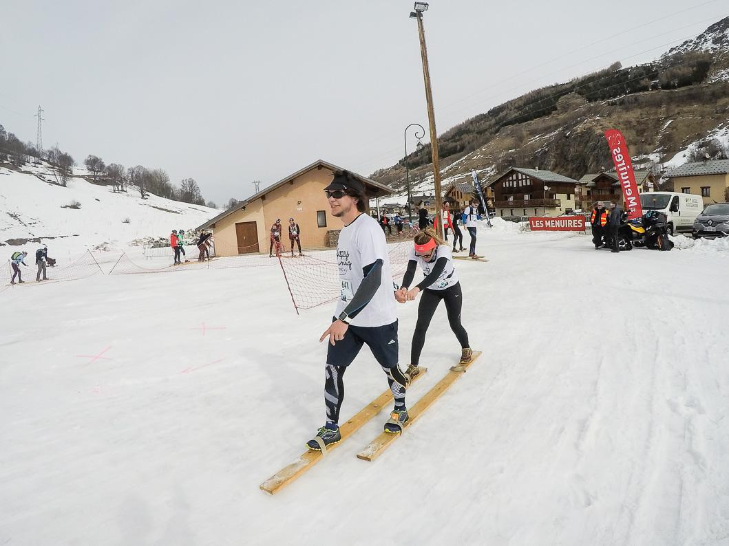 ski double Yeti Race