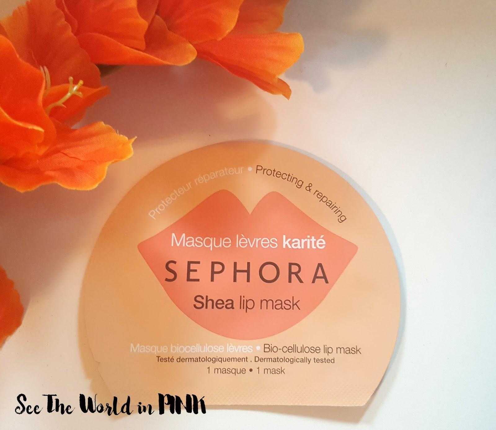 """Mask Wednesday - Sephora Lip Mask """"Shea"""" Publish"""