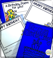 BirtHelp your students feel special on their birthday with a class created book that they can keep for years to come. Students will sharpen their letter writing skills as they write about each birthday student and why he/she is special. These books are easy to create, easy to assemble, and are sure to be treasured by both students and parents!