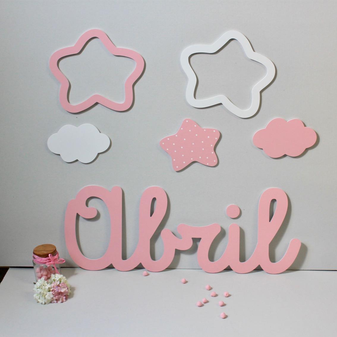Letras infantiles para decorar stunning fabulous letras - Letras infantiles para decorar ...