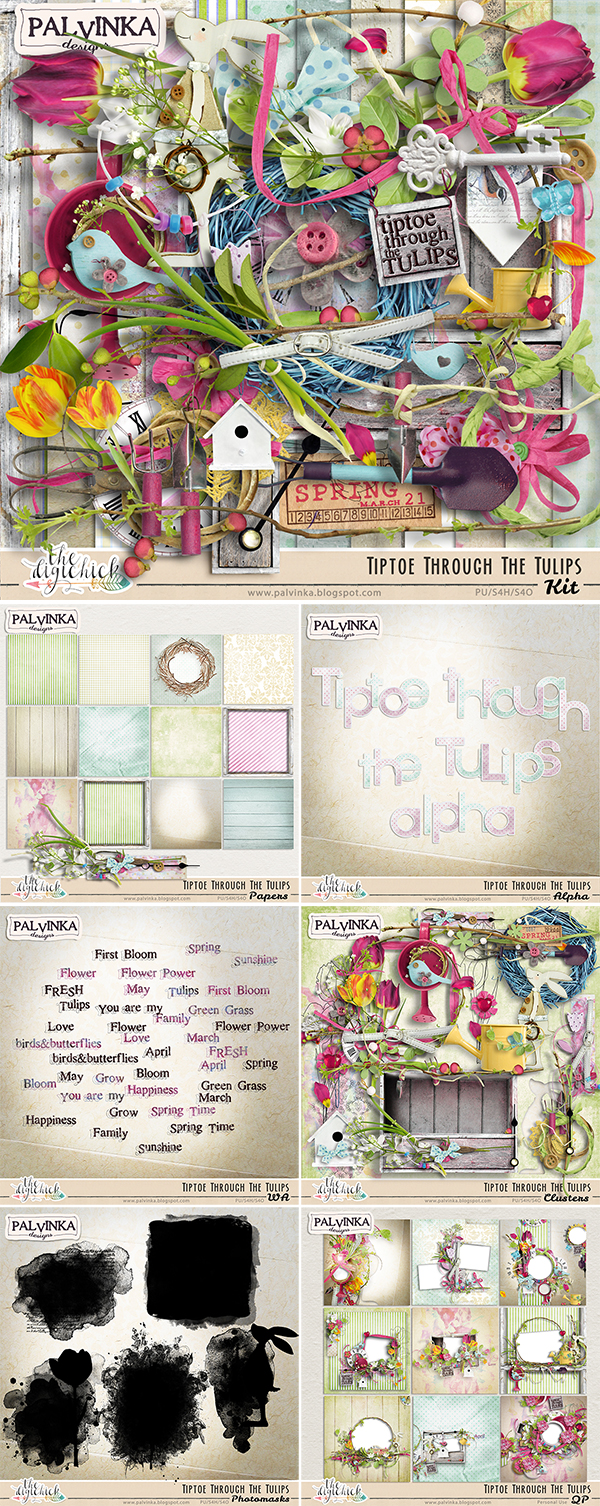Tiptoe Through The Tulips - Special & Freebie