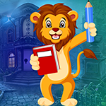 Games4King Studying Lion Escape