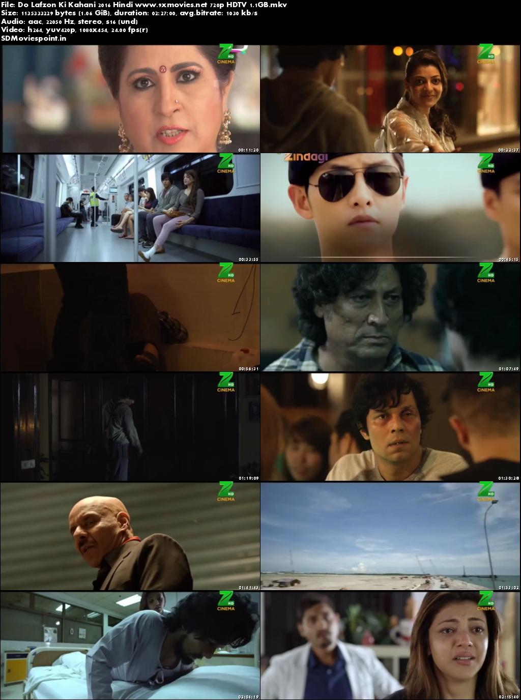 Screen Shots Do Lafzon Ki Kahani (2016) Full Hindi Movie Download 720p