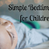 Simple Bedtime Tips for Children