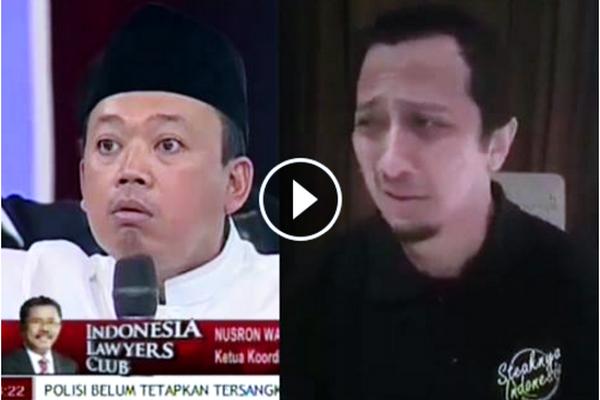 VIDEO: Mendengar Ucapan Nusron Wahid, Ustad Yusuf Mansur Beri Tausiyah Sambil Menangis Tersedu-sedu