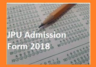 JP University Admission Form 2019 - JPU Chapra Registration Form 1st, 2nd, 3rd Year