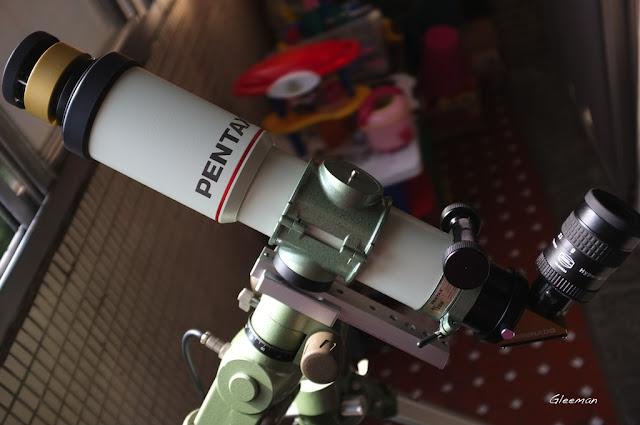 Pentax 75SDHF 做H-Alpha攝影