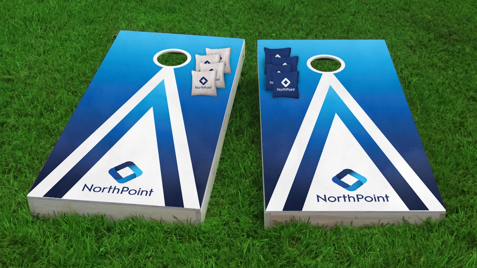 NorthPoint Cornhole set